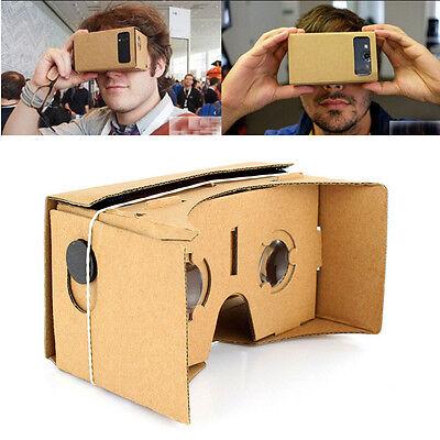 Google Cardboard 3D VR Virtual Reality Glasses Google Nexus 4/5 Samsung Galaxy