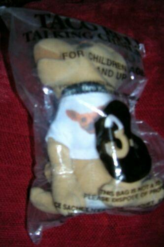 Rose TACO BELL Dog//Chihuahua Plush//Stuffed Animal Sign Hat Napkin T-shirt,