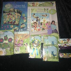 Tinkerbell Birthday Party Scene Setter Decoration Kit ...