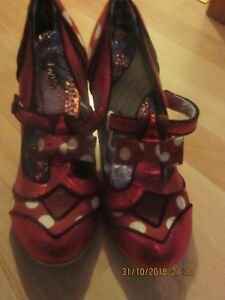 New Choice Irregular Brand Red Lottie Dottie Size 40 0cgcWR