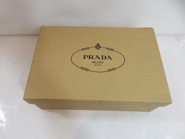 Prada Double Platform Espadrille Slide Sandals White NIB Size8.5