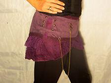 Mini Jupe Chaine Violet - PsyTrance Teuf Hippie Style