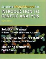 Mega Solutions Manual For Introduction to Genetic Analysis