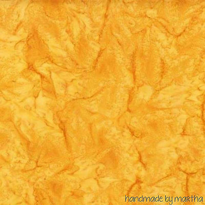 HALF YARD Fabric Batik Gold Tonal AMD7000133 new Kaufman Prisma Dyes