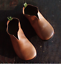 Women-Vintage-Leather-Round-Toe-Slip-On-Loafers-V-Cut-Casual-Flat-Single-Shoes thumbnail 6
