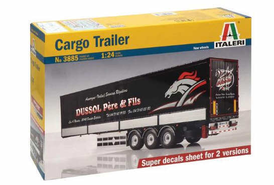 Italeri 1 24 Cargo Trailer