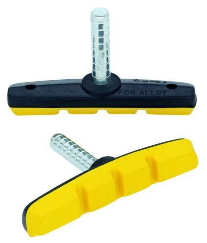 gelb Point Fahrrad Cantilever-Bremsschuh 70 mm für Alufelgen