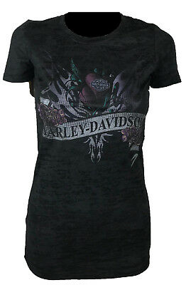 Harley-Davidson Dog Shirt Grey Work Shirt Medium