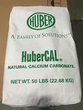 Calcium Carbonate FDA Compliant/ Food Grade/ Agricultural Use  50LB Bag-HuberCal