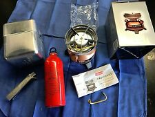 Coleman Exponent Multi-Fuel Stove With Carry Case, Cooking Pot & MSR Fuel Bottle