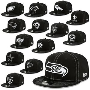 New-Era-Cap-9fifty-Snapback-Cap-NFL-Sideline-19-20-Seahawks-Patriots-Raiders-3rd