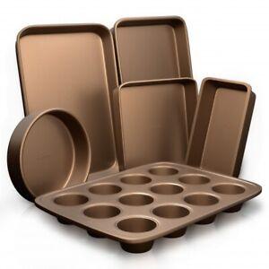 NutriChef-NCBK6TR7-Oven-Baking-Pans-Non-Stick-Bake-Tray-Sheet-Bakeware-Set