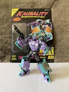 Transformers FansProject Kausality Kar Krash TFcon Exclusive (G2 Breakdown)