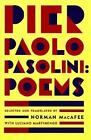 Pier Paolo Pasolini Poems by Norman MacAfee 9780374524692 Paperback 1996