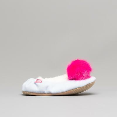 Joules DREAMA Girls Soft Warm Comfortable Cotton Ballerina Slippers Unicorn