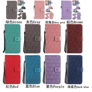 Book-Style-3D-Embossing-PU-Leather-Flip-Wallet-Case-Stand-Cover-For-Samsung