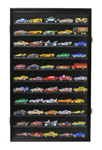 Hot-Wheels-1-64-Scale-Minifigure-Display-Case-Wall-Cabinet-HW11-BL