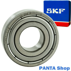8 Stück SKF Rillenkugellager 6001 2RSH Kugellager 6001-2RS  12x28x8 mm