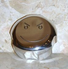 "YAMAHA RHINO ENGRAVED BILLET GAS CAP ""SMILEY / ATTITUDE FACE"" MADE IN USA"