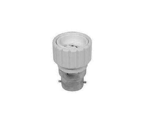 BAYONET CAP BC EDISON SCREW E27 CONVERSION TO GU10 ADAPTOR ADAPTER ENERGY SAVE