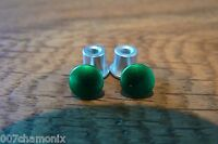 Oakley Jawbone/racing Jacket/split Jacket Anodized Green Thru Bolt Set