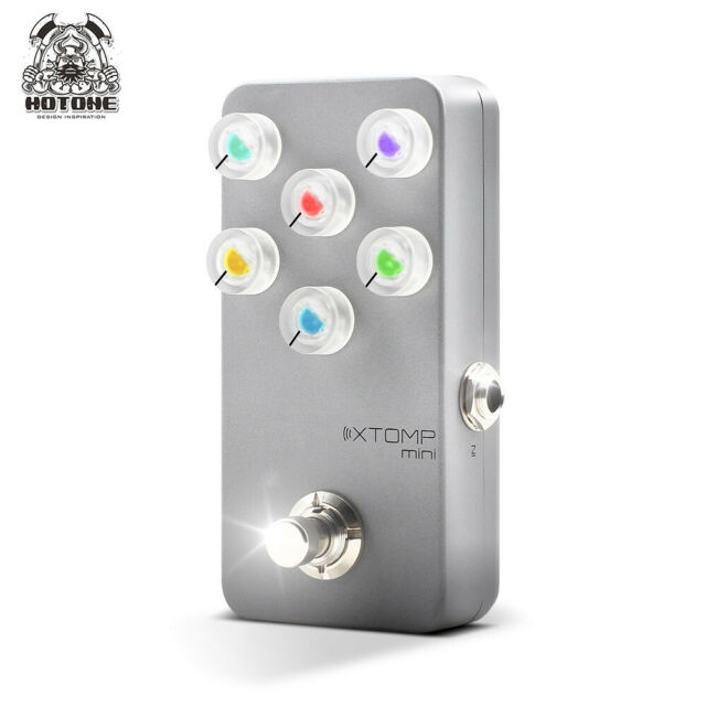 hotone xtomp multi effects pedal for guitar bass for sale online ebay. Black Bedroom Furniture Sets. Home Design Ideas