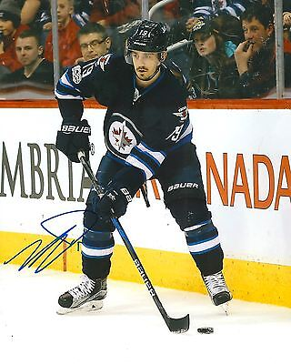 Photos Hockey-nhl Have An Inquiring Mind Nic Petan Signed Winnipeg Jets 8x10 Photo Coa A