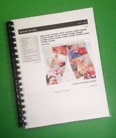 Color Printed Sony Pj320 Pj380e Digital Hd Camera 213 Page Owners Manual Guide