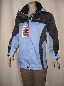 Details zu Marken Damen Outdoor Funktionsjacke Jacke wasserdicht langarm h'blau 36 S NEU