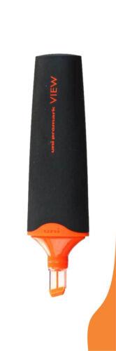 6 X Uni-Ball Promark Überblick Usp-200 Fluoreszierend Textmarker Marker 6 Farbe