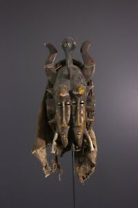 MASQUE-SENOUFO-AFRICAN-ART-AFRICAIN-PRIMITIF-AFRICANA-AFRIKANISCHE-KUNST
