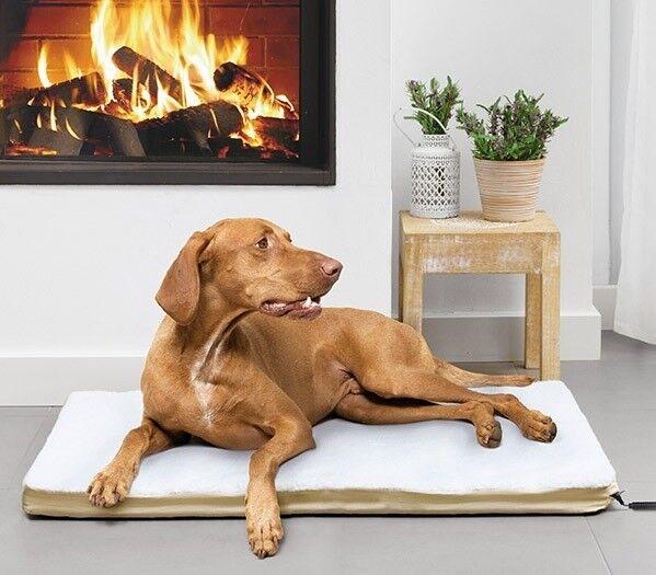Letto per cani cani riscaldabile calore LETTO Tappetino Termico letto animali cani soffitto rettangolare
