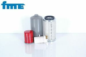 Set-filtro-Pel-Job-EB-22-4-Mini-escavatore-Motore-Mitsubishi-K3E-SN-16700