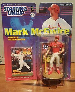 MARK MCGWIRE 1999 62 HOME RUN  Starting Lineup Baseball Figure NEW NIB SEALED