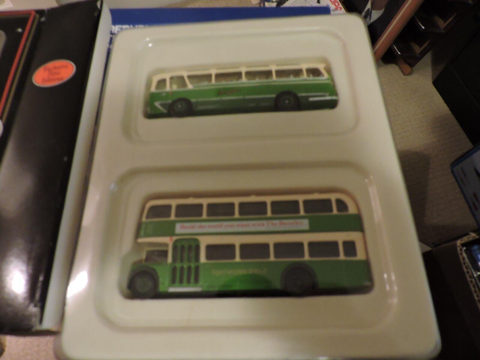 Corgi presión fundida 1 76th escala leyland Leopard southdown autobús autobús autobús set  2 adc454