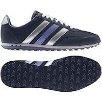 Adidas Womens Purple Nylon Rubber Neo V Racer Running Trainers Uk7.5 (us9)41 1/3