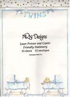 Twins Laser Printer & Copier Friendly Stationery (15 Sheets/envelopes) Sale