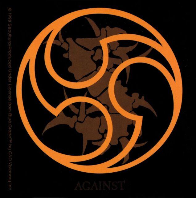15847 Sepultura Against Symbols Logo Death Heavy Metal Brazil