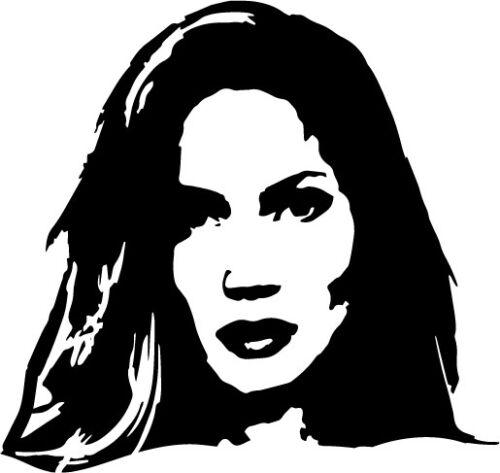 Jennifer Lopez vinyl decal sticker pop jenny actress