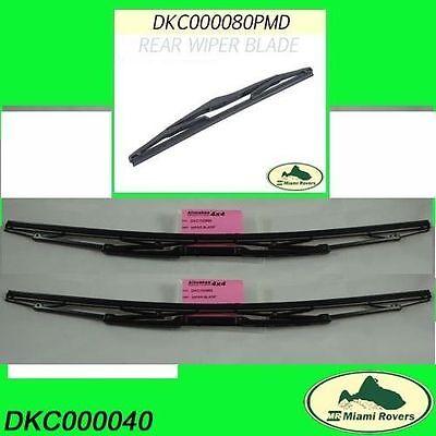 LAND ROVER WIPER BLADES SET KIT RANGE 03-12 DKC000040 BOSCH