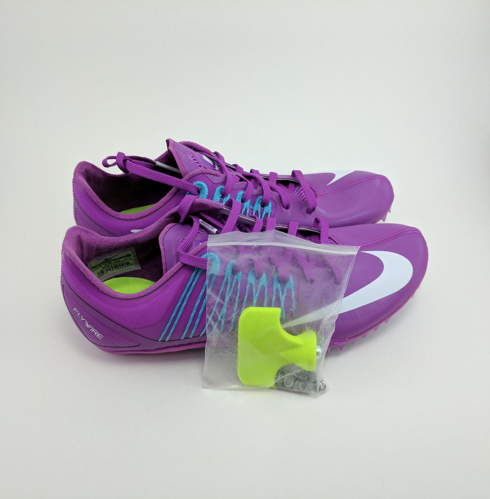 NEW NEW NEW Nike Zoom Celar 5 Track Sprint Spikes Hyper purple Purple Sz 14.5 629226-514 2b9766