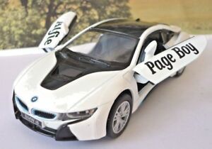 Wedding Day Car Gift Personalised Name Page Boy Usher Audi Toy Car Present Boxed
