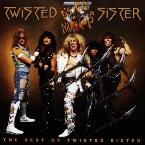 """1 von 1 - TWISTED SISTER """"BIG HITS AND...BEST OF"""" CD NEUWARE"""