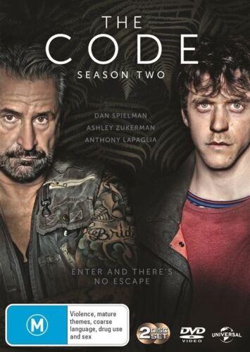 1 of 1 - The Code : Season 2 (DVD, 2-Disc Set) LIKE NEW