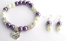 Wedding gifts, bridesmaid gift bracelet,Matron Of Honor Maid Of Honor Bracelet