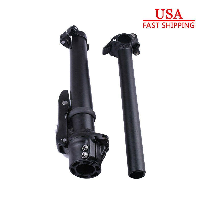 Road Bicycle Handlebar Stems 118 in Adjustable Aluminum Alloy For 25.4mm Bar
