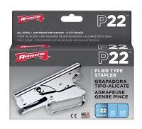 Arrow Fastener P22 Arrow Heavy Duty Plier Type Stapler