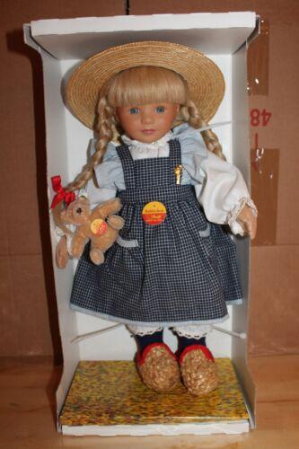 Steiff 9250/43 # 701771 Puppe Babinchen rarität
