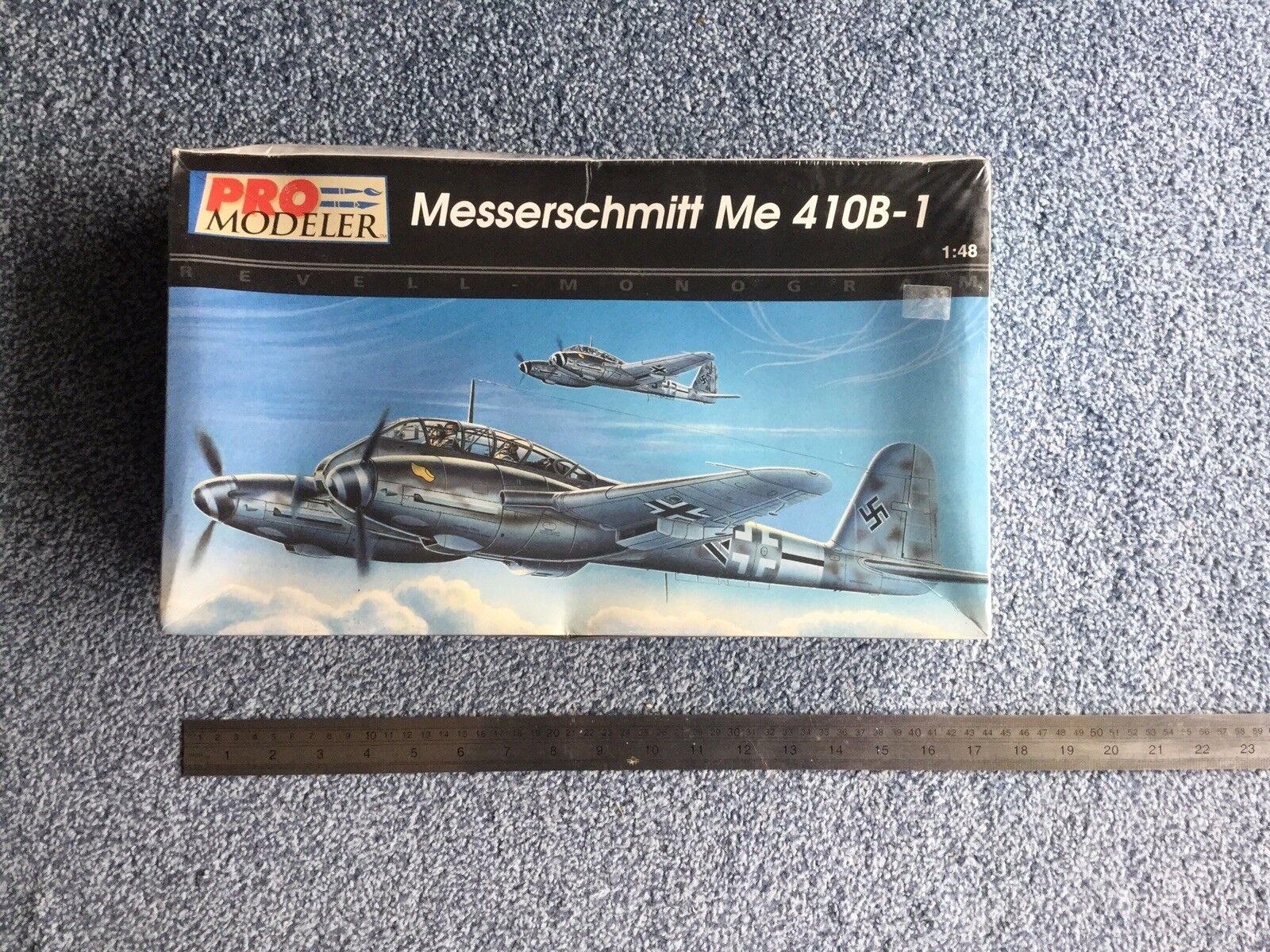 Pro modeller Revell Monogram 1 48 Me Kit Bf410B-1  5936 Scellé