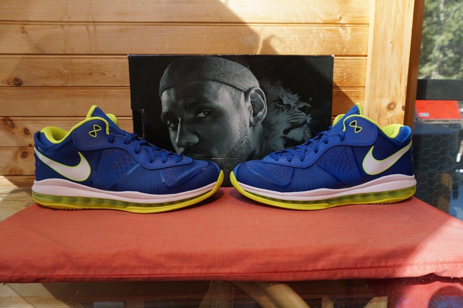 2011 Nike Lebron 8 V 2 Low  Sprite  Sz 10 (1247) 456849-401